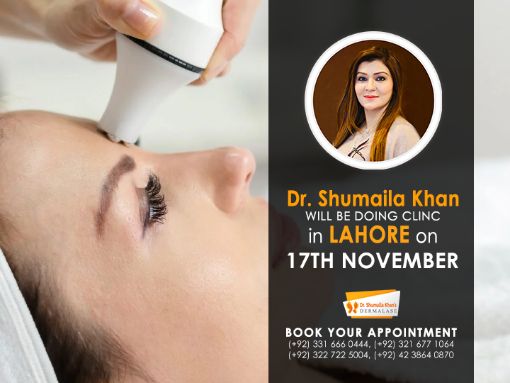 Laser & Aesthetics Clinic in Lahore by Dr. Shumaila Khan | 17th November 2020